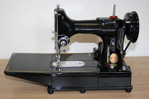Singer Featherweight 40K Free Arm Sewing Machines Custom Value Of Singer Sewing Machine With Serial Number