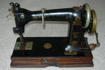wheeler and wilson sewing box