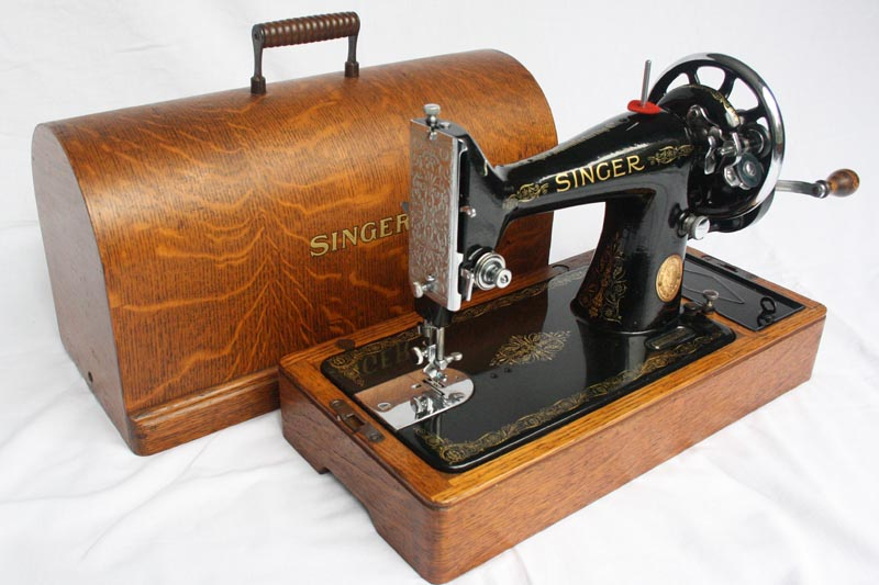 For Sale 40K Singer Hand Crank Sewing Machine With Reverse Mesmerizing Hand Crank Sewing Machines For Sale