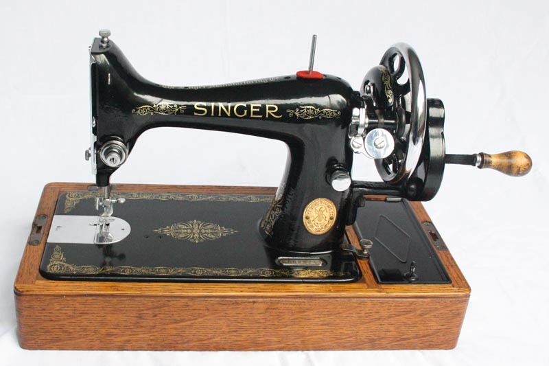 For Sale 40K Singer Hand Crank Sewing Machine With Reverse Custom Hand Crank Sewing Machines For Sale