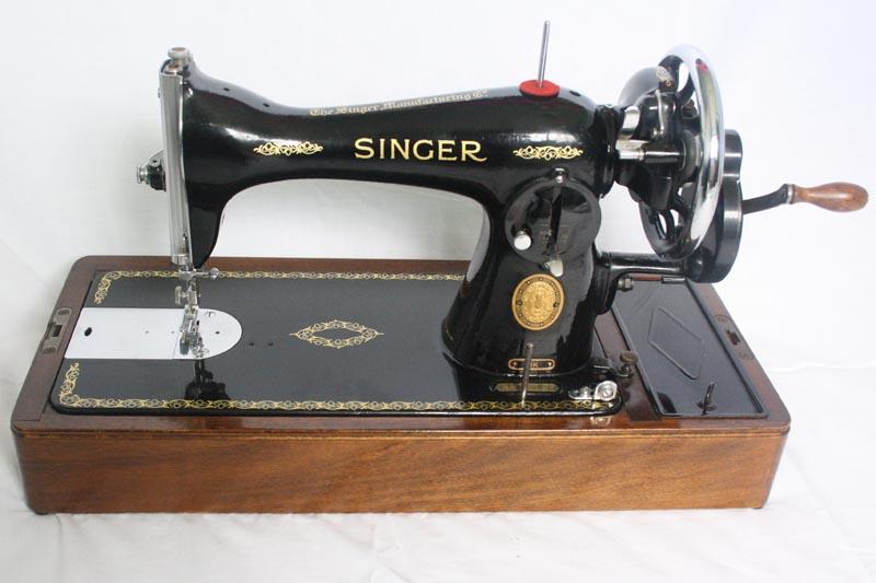 Singer 40K Hand Crank Sewing Machine Model 40K40 New Hand Sewing Machine