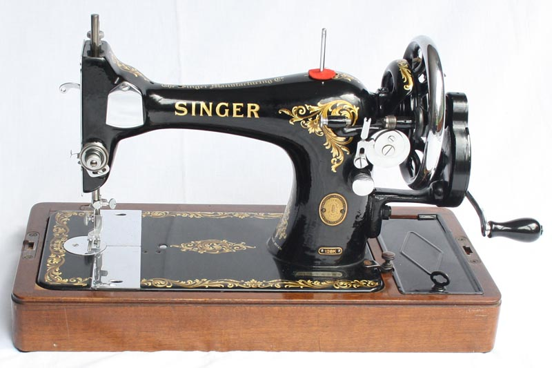For Sale Singer 40K Vibrating Shuttle Sewing Machine Magnificent Singer Hand Crank Sewing Machine