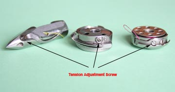 Lower Tension Adjustment