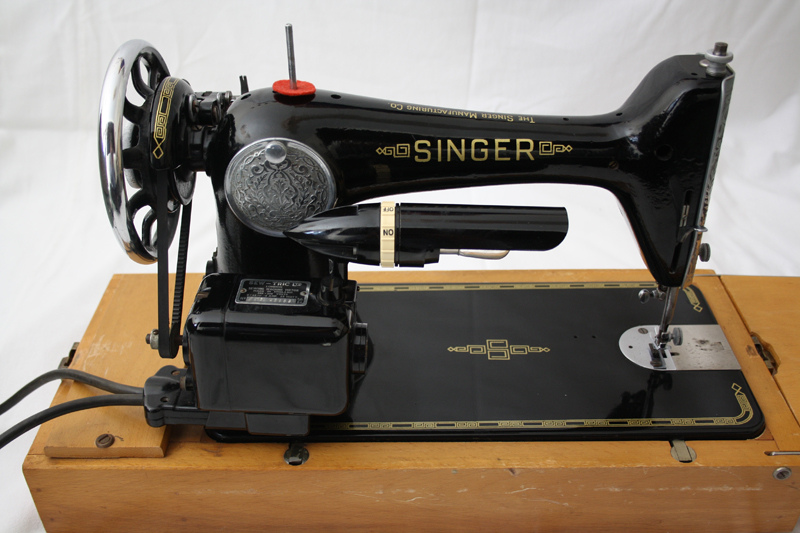 Singer 66k sewing machine for sale full size electric for Singer sewing machine motor controller
