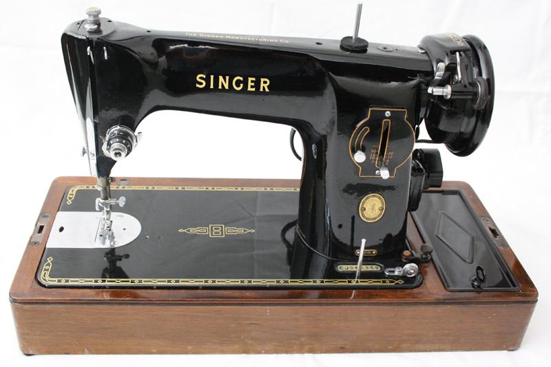 Singer 201k Electric Sewing Machine Aluminium Body